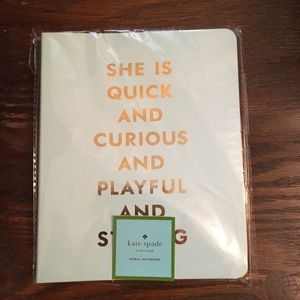 New! Kate Spade Notebook